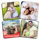 Personalised PHOTO Coasters x 4